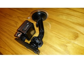 SJ4000 action cam dashboard mount adapter plate