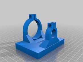 Integrated Dremel Mount for Zen Toolworks CNC