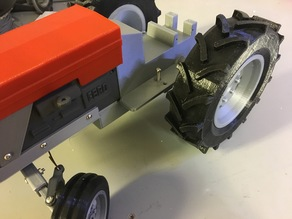 OpenRC Tractor modern rear tires