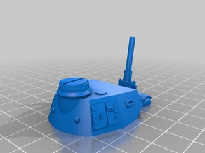 Panzer 3 G 28mm split/modded for ease of print and assembly