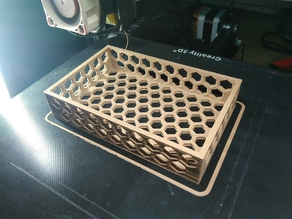 HEX HONEYCOMB TRAY / BOX