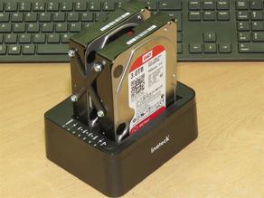 Dual HDD caddy drive stabilizer