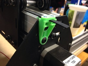 ShapeOko II Outside Belt Clamp - Add an inch of travel to your Oko!