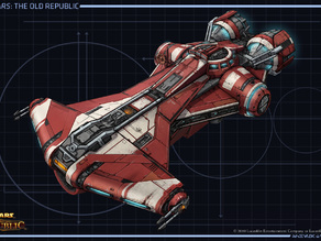 Star Wars The Old Republic Jedi ship