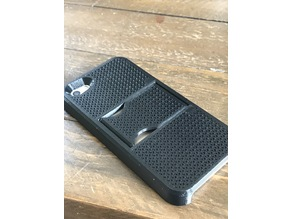 iPhone  5 / SE Phone Case with print-in-place kick stand