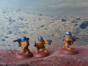 Space Dwarf Astroid Miners 1
