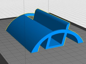 Business Card Holder, Rounded, Blank, and Remix