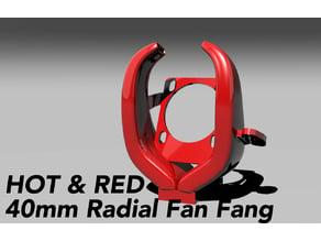 Radial Fang Fan - 4020 Blower fan, 40mm hotend fan