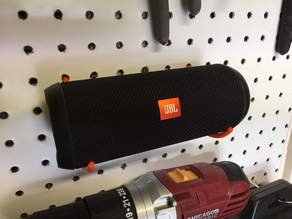 Portable Speaker Pegboard Holders