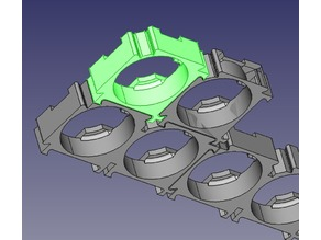 18650 battery pack (freecad)