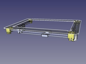 Y axis snap-in and solid bracket for MakerBot Replicator 2