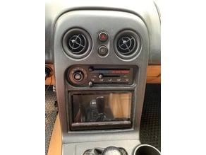 NA Miata Radio Bezel for Sony XAV-AX5000