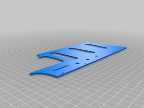 Modified Whammy Pick Guard and Body for AMGP 3D Printable Guitar