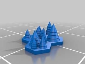 LotP - Terrain - Forest (4 hex)