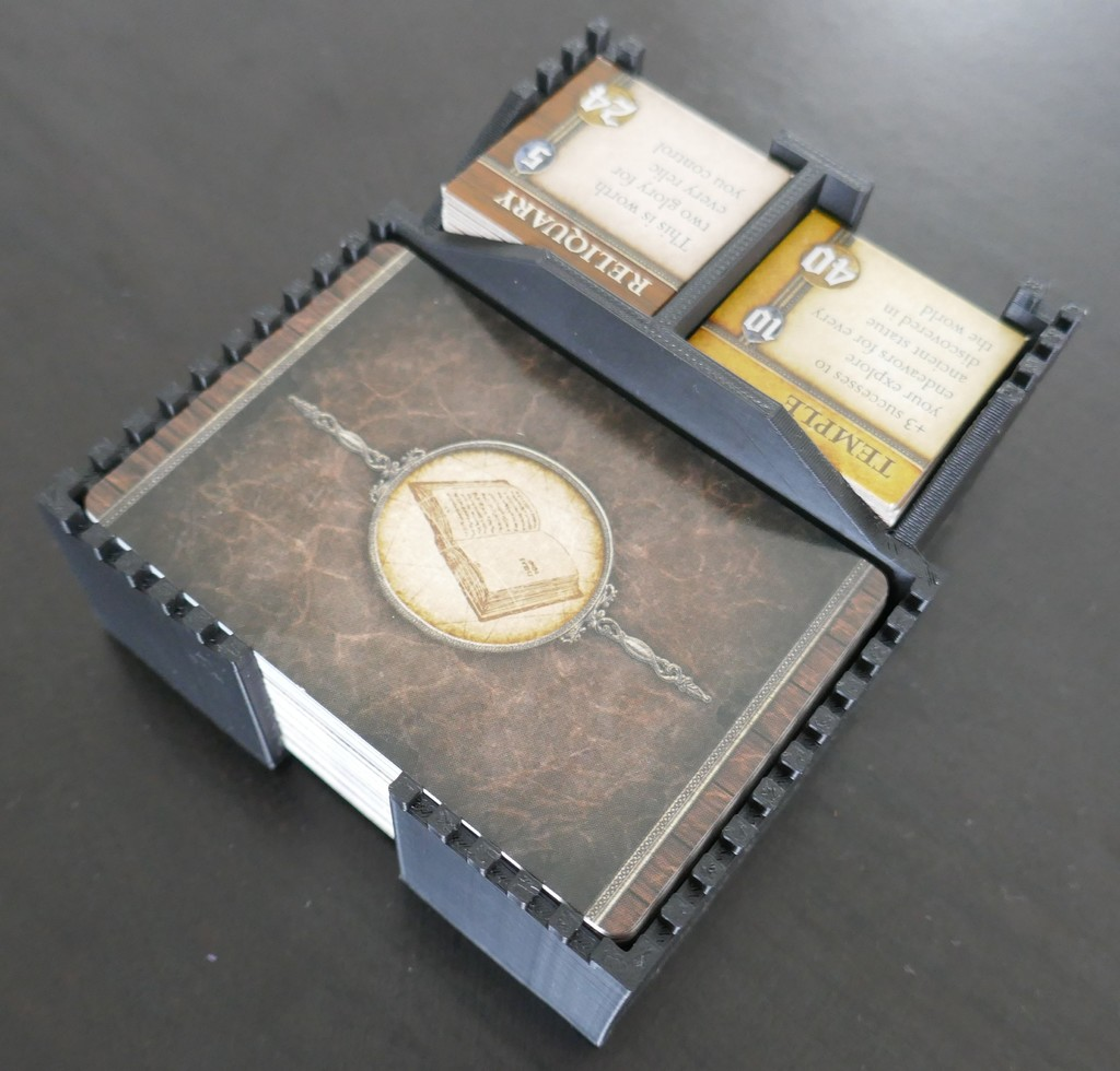 Seafall boardgame token and card holders by TomHT - Thingiverse