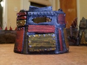 Space Goblin Scrapyard Barricade - Small 1