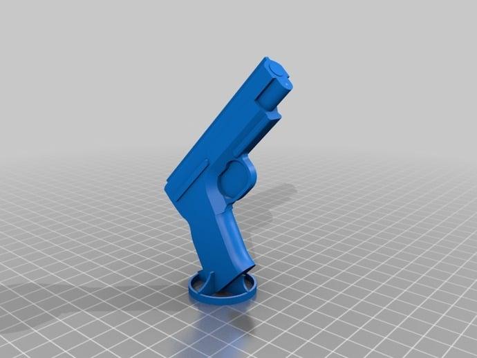 unusable toy pistol by bkubicek - Thingiverse