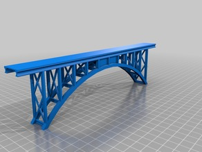Model railroad, Truss Arch Bridge