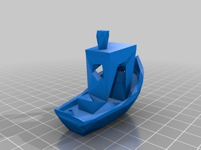 Low Poly Benchy