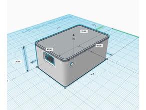 WEMOS D1 Mini ENCLOSURE with magnets, BL-5C NOKIA battery & sensors space