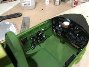 P-47D Razorback Parts