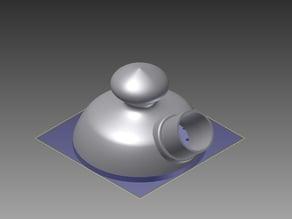 Handsander teapot
