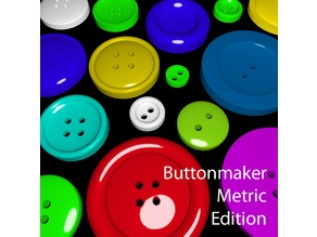 Parametric Button Generator - Metric Edition