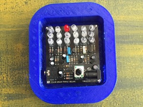 Case for Led Color Organ Triple Deluxe II Kit