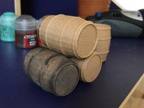 G Scale bourbon whisky barrel