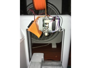 Fan holder and air duct for Cube 2nd Generation