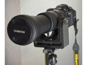 Gimbal head for Tamron 150-600 G2