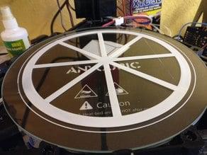 Delta Printer First Layer Test Circle