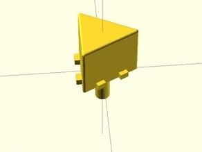 Directional Arrow Push Button cap