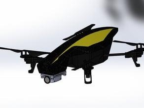 Parrot Ar drone 808 #18 anti vibration camera mount