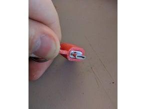 USB C  to Micro USB Adapter Keychain