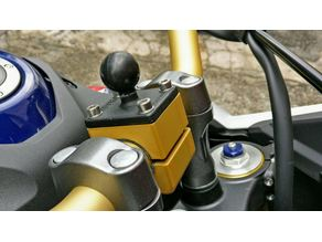28 mm Handlebars RAM Mount (adapter)