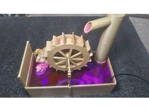 Waterwheel Fountain