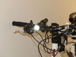 Bike torch mount with quick release