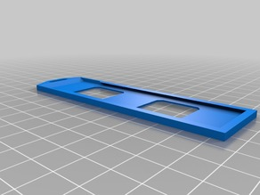 RFID Holder for 100x26mm Cards