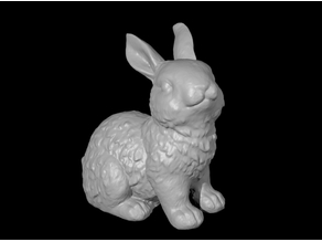 Cute Bunny - 3D Scan