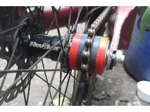 Singlespeed spacers for Mountain bike hubs