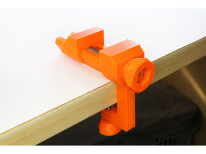 Dutyhook Machine Vise with Desk Clamp