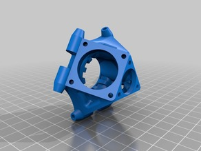 Remix of Fullbody Effector for ABS printer