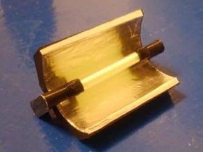 T35 Tritium vial reflector mount