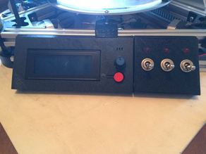 Fan switchtes control panel (inspired from Kossel 800 gadget LCD panel)