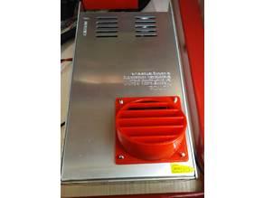 Fan grid for power supply