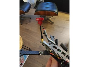 Flowride Longrange VTX and crossfire antenna mount