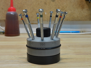 Watchmakers Screwdriver Rotating Stand