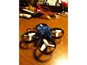 Easy print Fishbones canopy for Tiny whoop