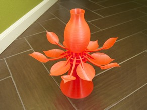 Blossoming Lamp - Stand for battery powered candle